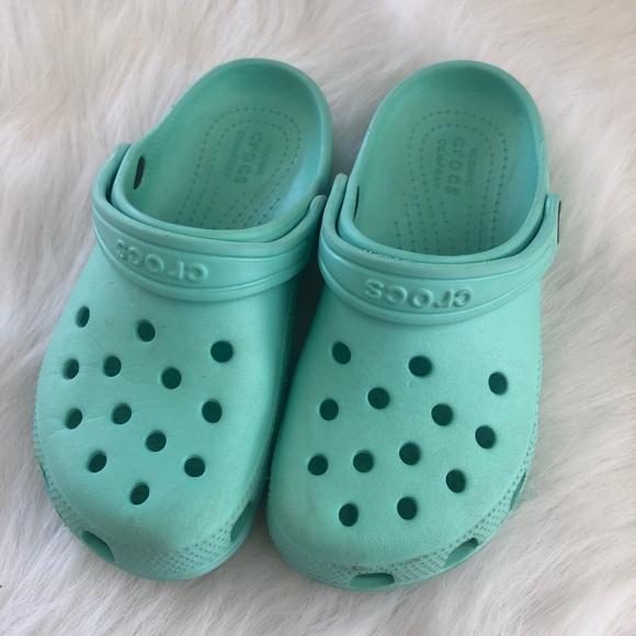 CROCS Shoes | Crocs Tiffany Blue Green
